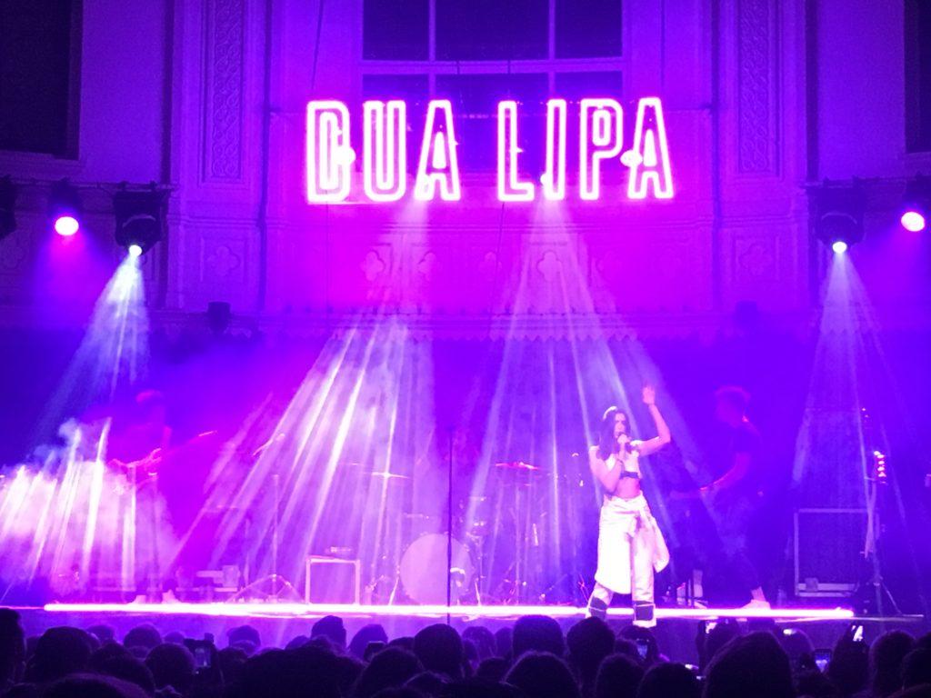 artist dua lipa in concert