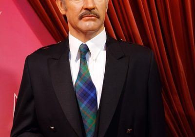 Sean Connery au musée Tussaud