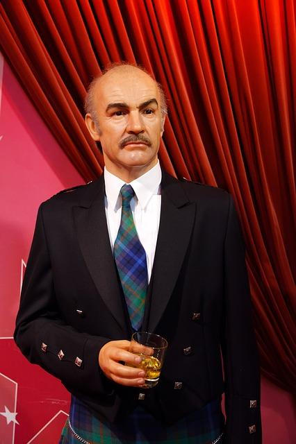 Sean Connery au musée Tussaud